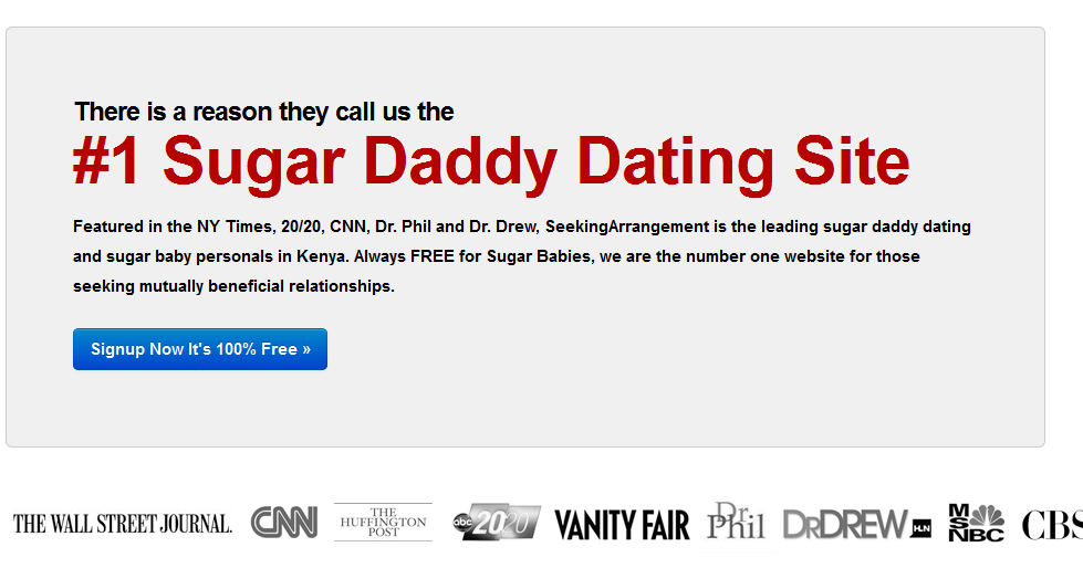 Dating Sites For Sugar Daddies In Kenya