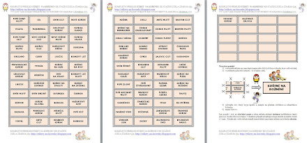 Etikety na kořenky ke stažení a vytištění - česky