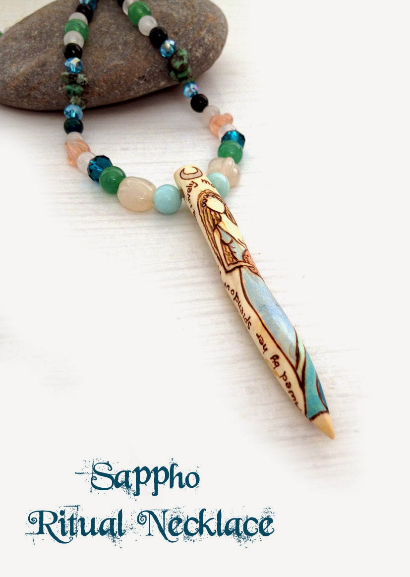 Sappho Ritual Necklace from MoonsCrafts