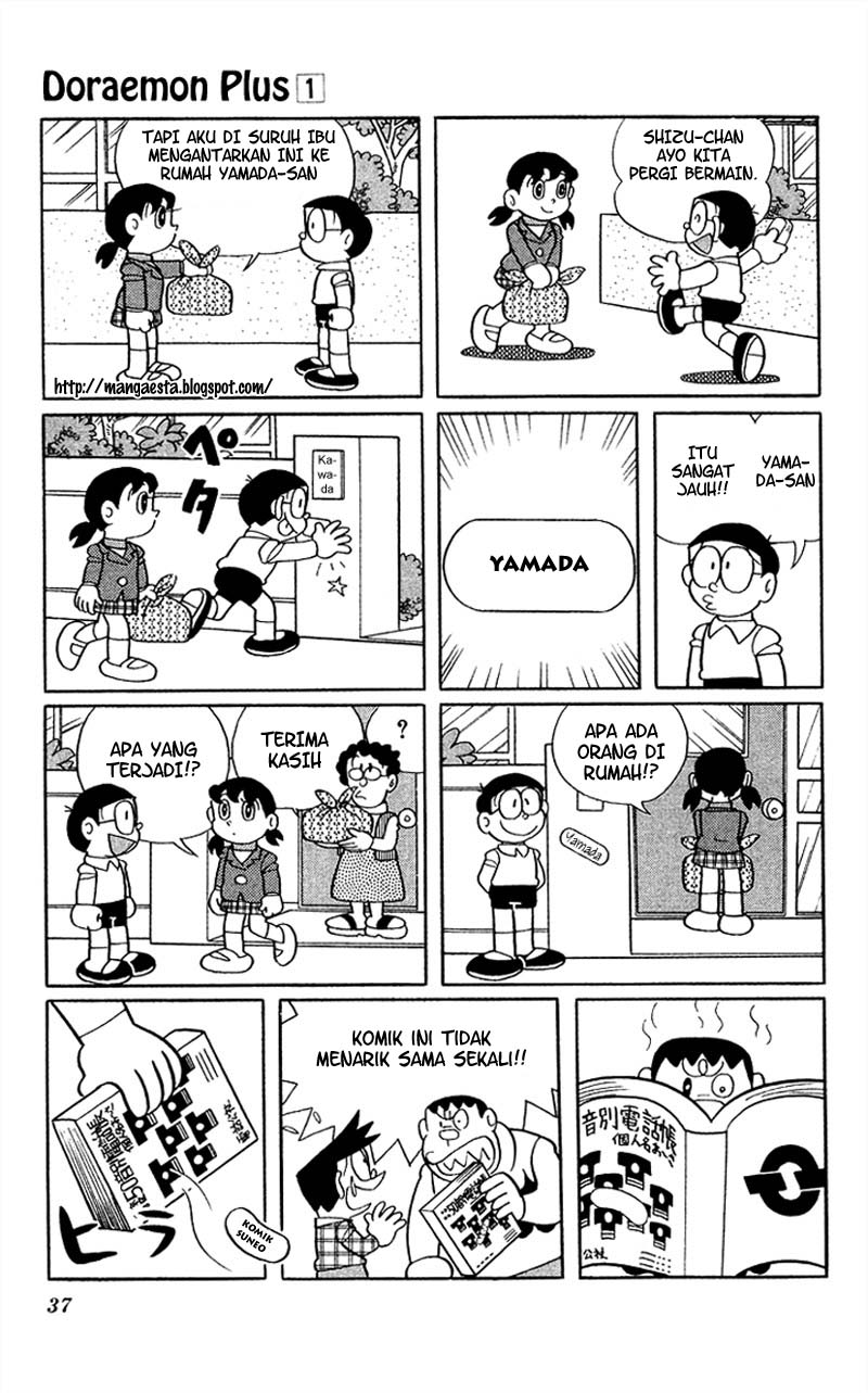 Baca Komik Doraemon Plus Vol 1 Chapter 004 - Halaman 05