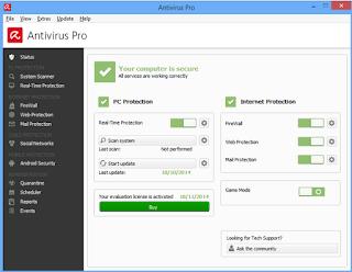 Anti Virus Avira Antivirus Pro 2015 15.0.8.624 Full