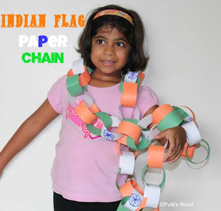 Indian Flag Crafts for Kids