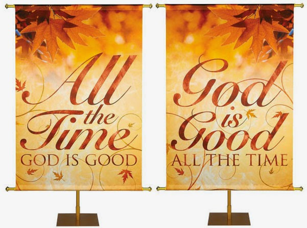 Shimmering Autumn Banners from PraiseBanners