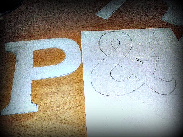 Pakita y pon diy como hacer letras decorativas - Como hacer letras decorativas ...
