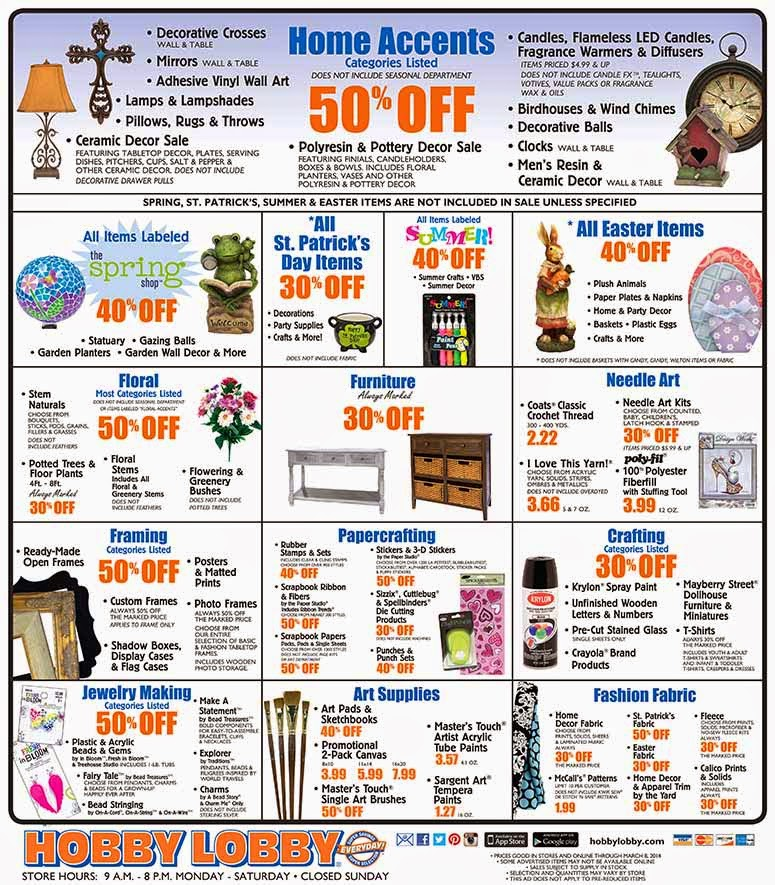 Hobby lobby 40 printable coupon