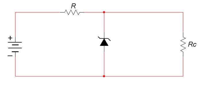 Circuito Zener : Baú da eletrônica circuitos com diodo zener