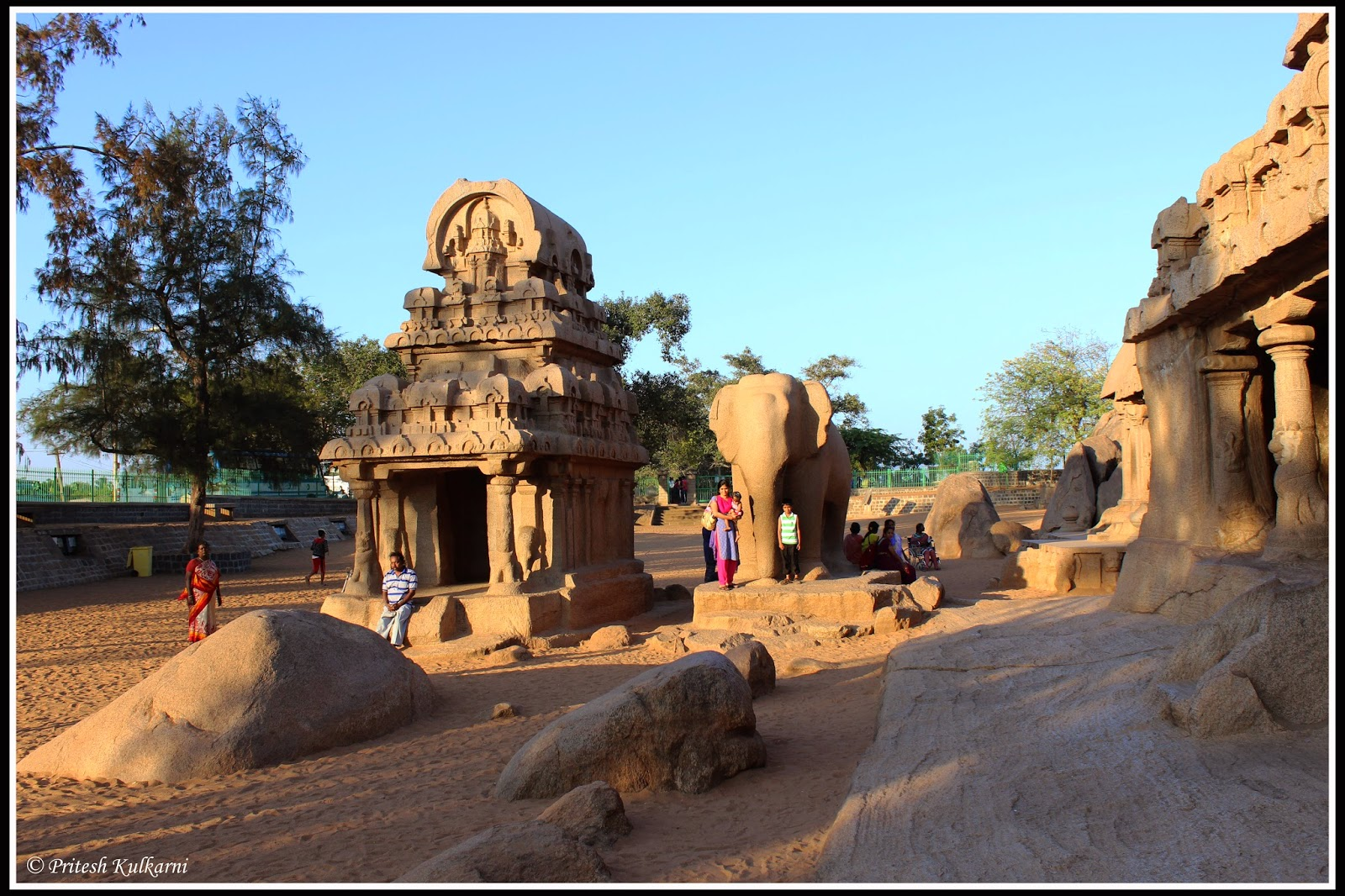 Five Rathaas - Mahabalipuram