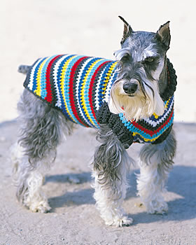 Free Crochet Patterns For Dog Sweaters - Doggie Stylish