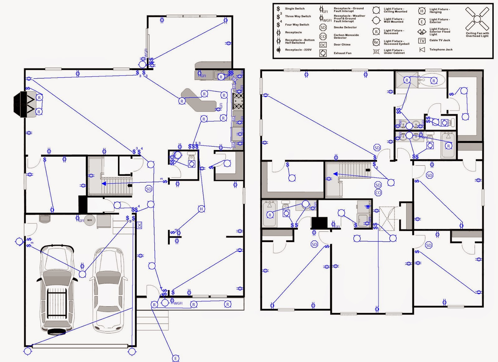 Honey i 39 m rome electrical and lighting for House electrical design