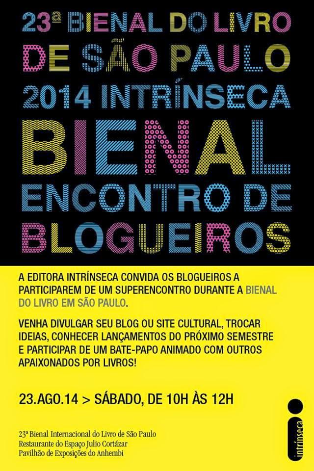Encontro de Blogueiros da Editora Intrínseca