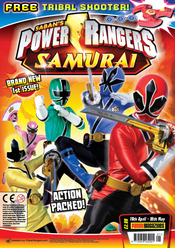 Power Ranger Samurai Coloring Pages