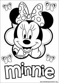 desenho da Minnie para pintar