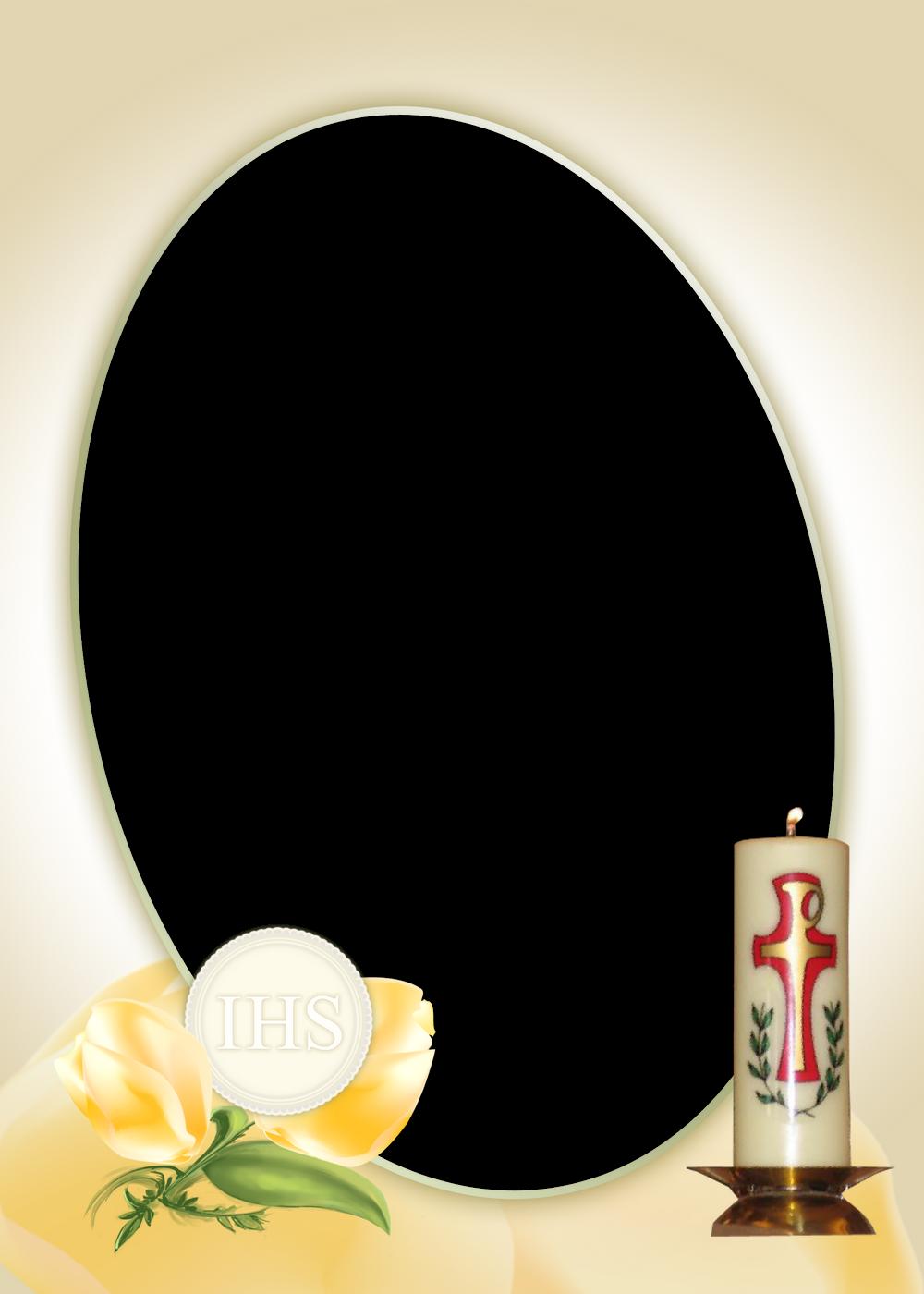 marco de bautizo
