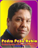 Ingeniero Pedro Peña Rubio, Gobernador Civil de la Provincia de Barahona