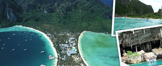 ทัวร์เกาะพีพี โดยเรือเฟอร์รี่