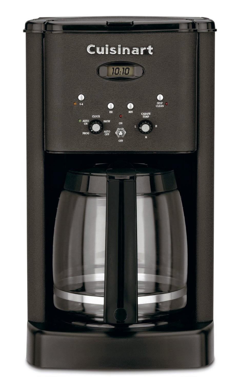 Cuisinart Coffee Maker Matte Black : Home, Garden & More...: Cuisinart DCC-1200 Brew Central 12-Cup Programmable Coffeemaker, Review ...