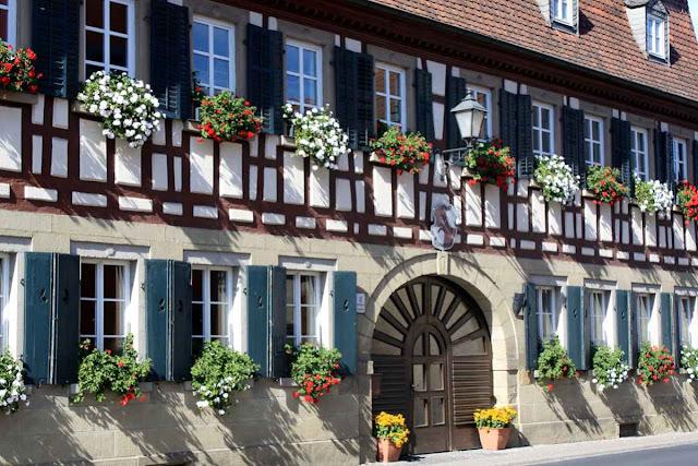 Romantische Fachwerkbauten in Franken