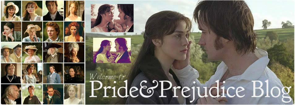 Pride &amp; Prejudice (2005) Blog