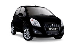Suzuki New Splash Hitam