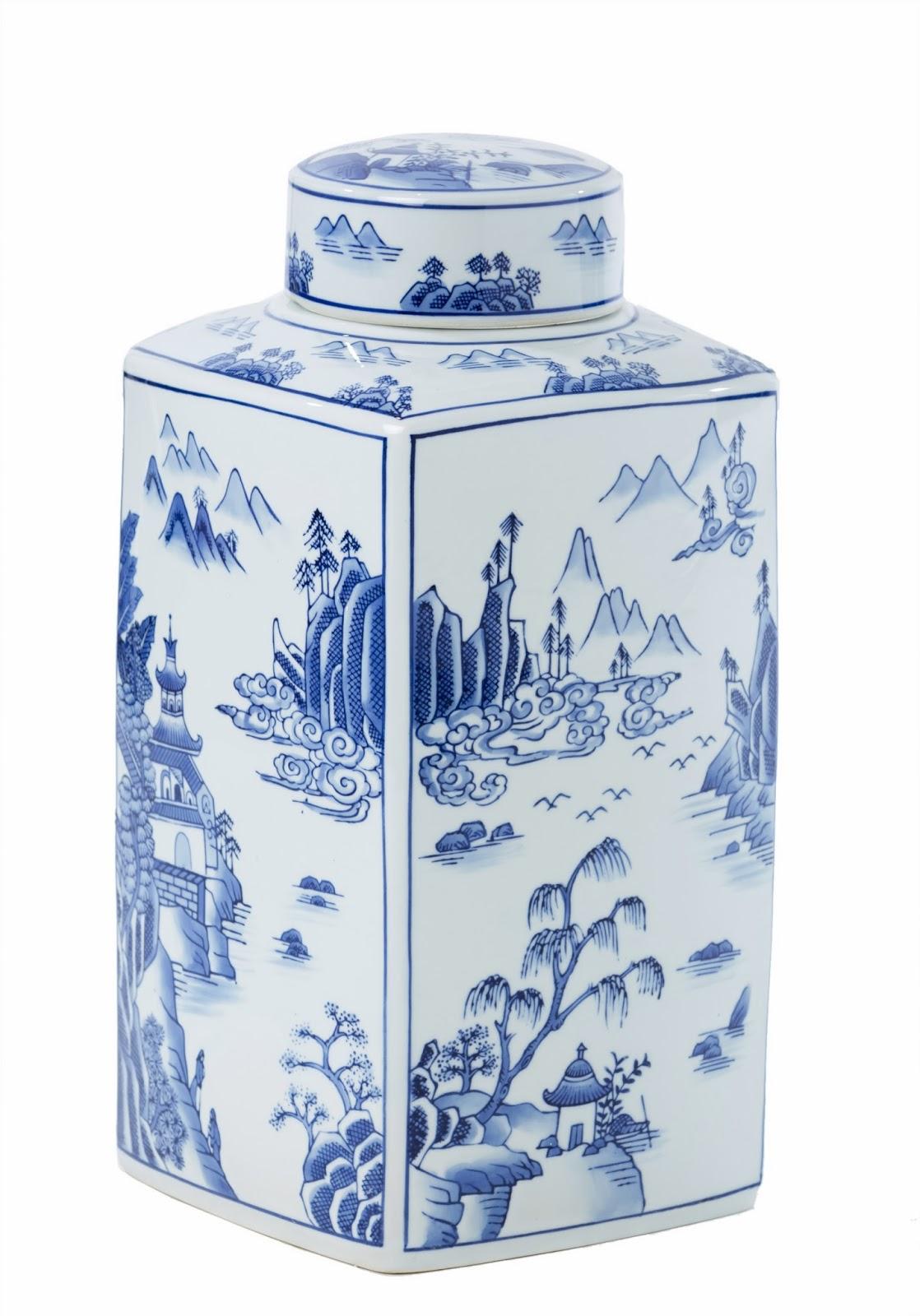 Chinese tea jar