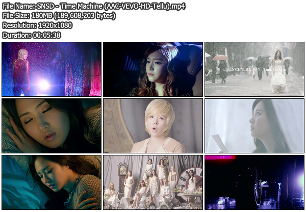 [PV] SNSD   Time Machine (VEVO HD 1080p)