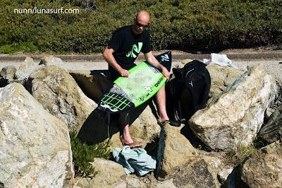surfboard tail pad