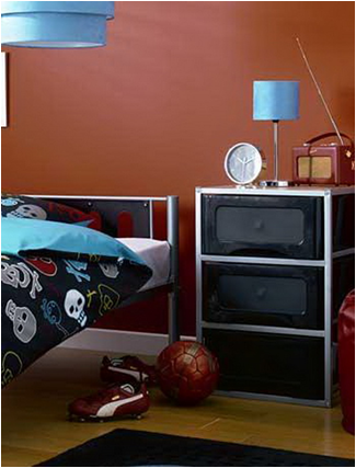 Key interiors by shinay fun young boys bedroom ideas for Normal bedroom designs