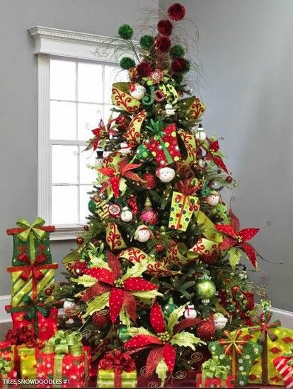 imagen de arboles de navideños
