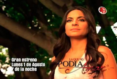 "... 08 ""La que no podía amar"", com Ana Brenda, a nova novela da Televisa"