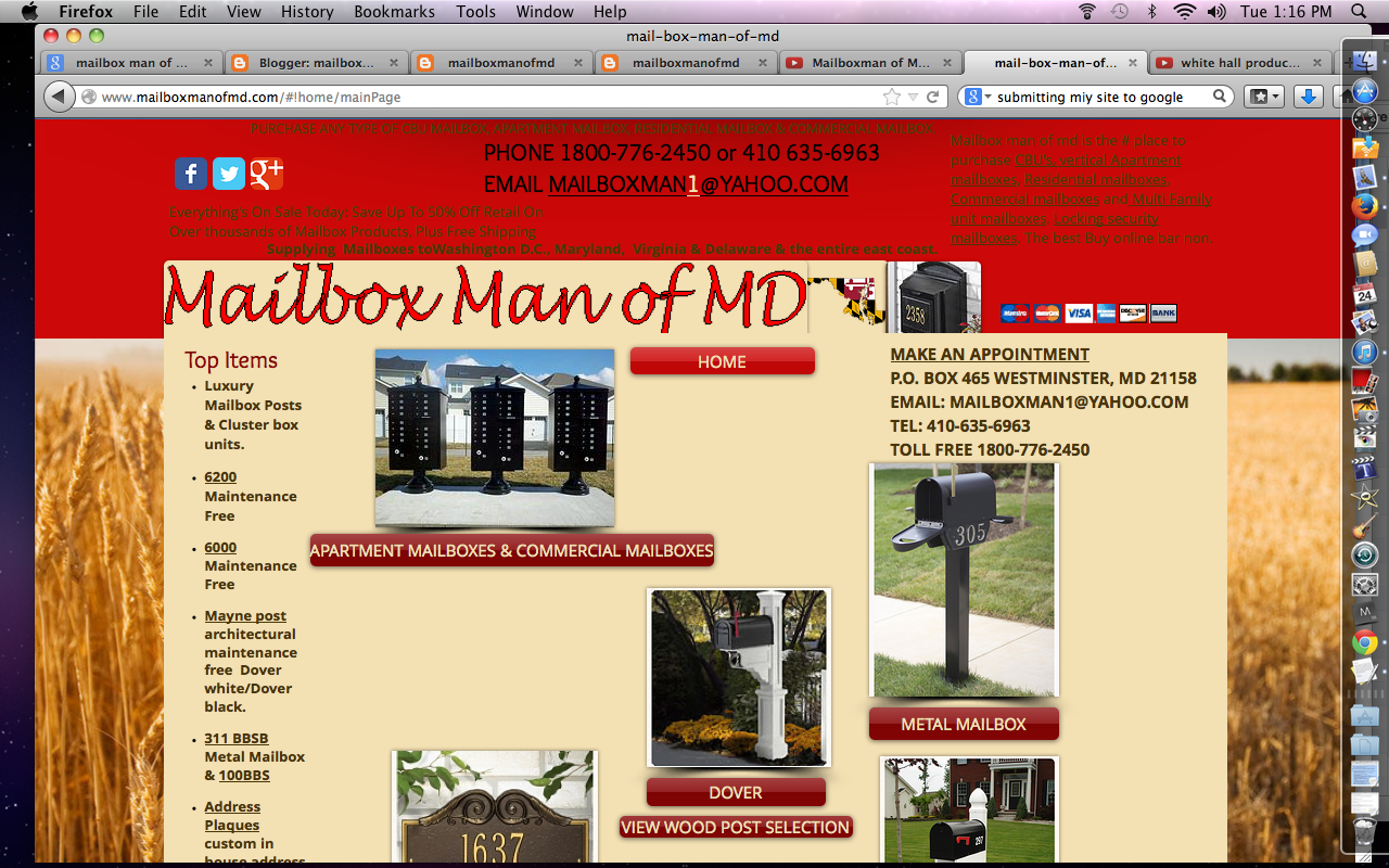 mailboxmanofmd: Trending decorative indoor wall mount mailboxes as ...