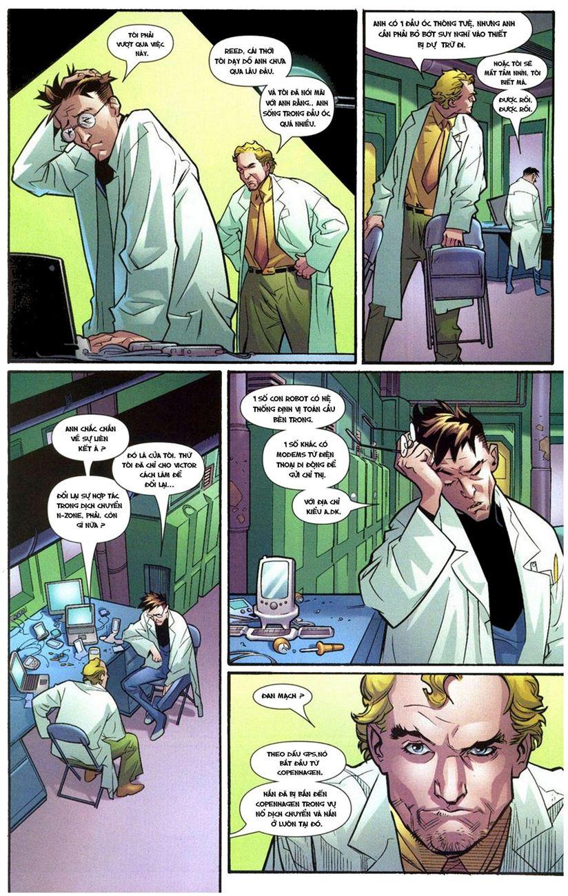 Ultimate Fantastic Four chap 10 - Trang 5