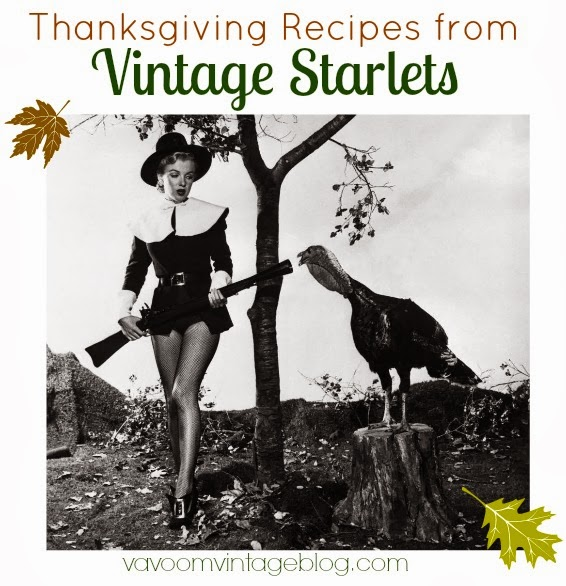 Thanksgiving Recipes From Vintage Old Hollywood Stars