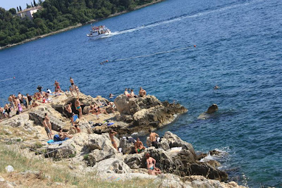 Beach in Rovinj