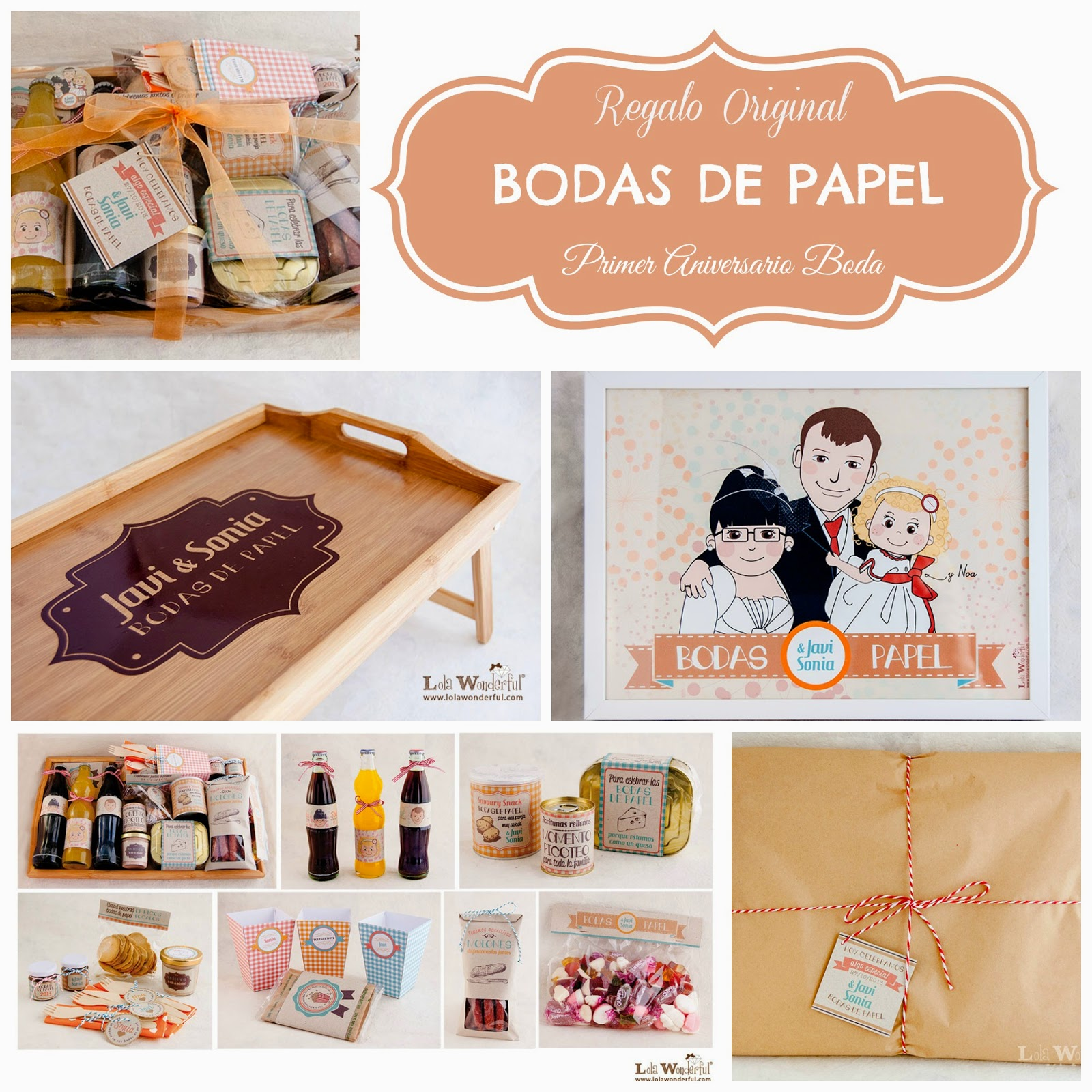 Blog Mi Boda Regalo Original Primer Aniversario De Boda