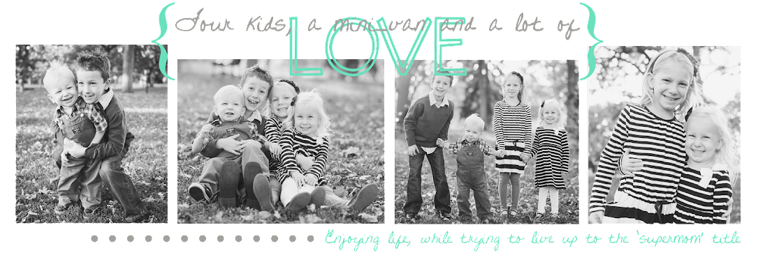 Four kids, a mini-van and a lot of love