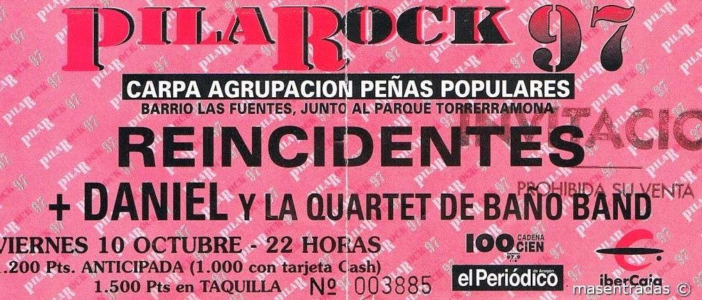 entrada de concierto pilarock 97
