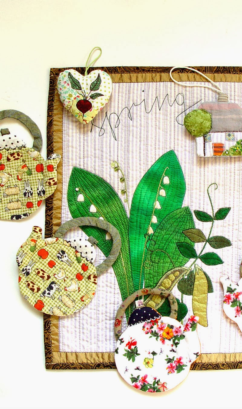 spring kitchen decor by bozena wojtaszek