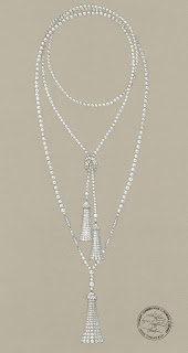 luxe tiffany diamant perles