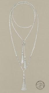 luxe tiffany diamant perles