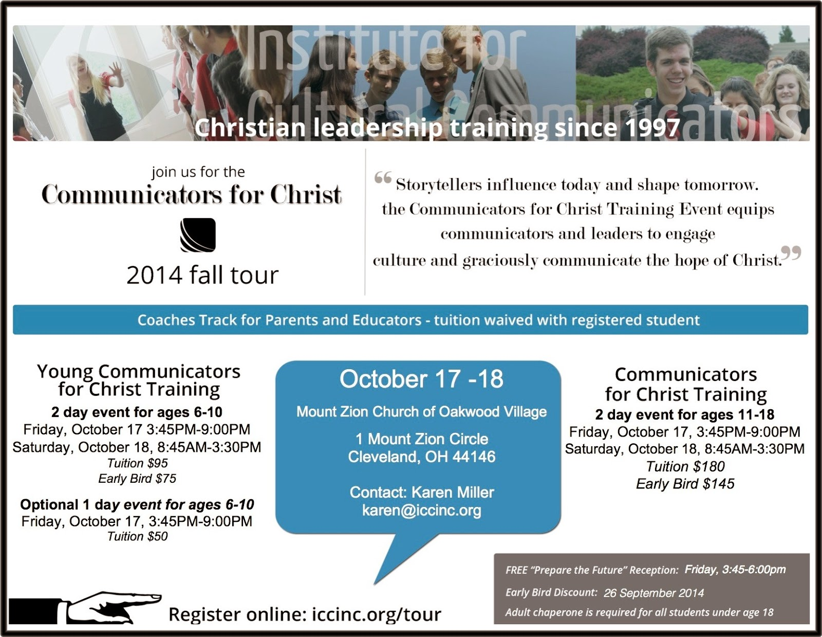 Communicators for Christ Conference 2014
