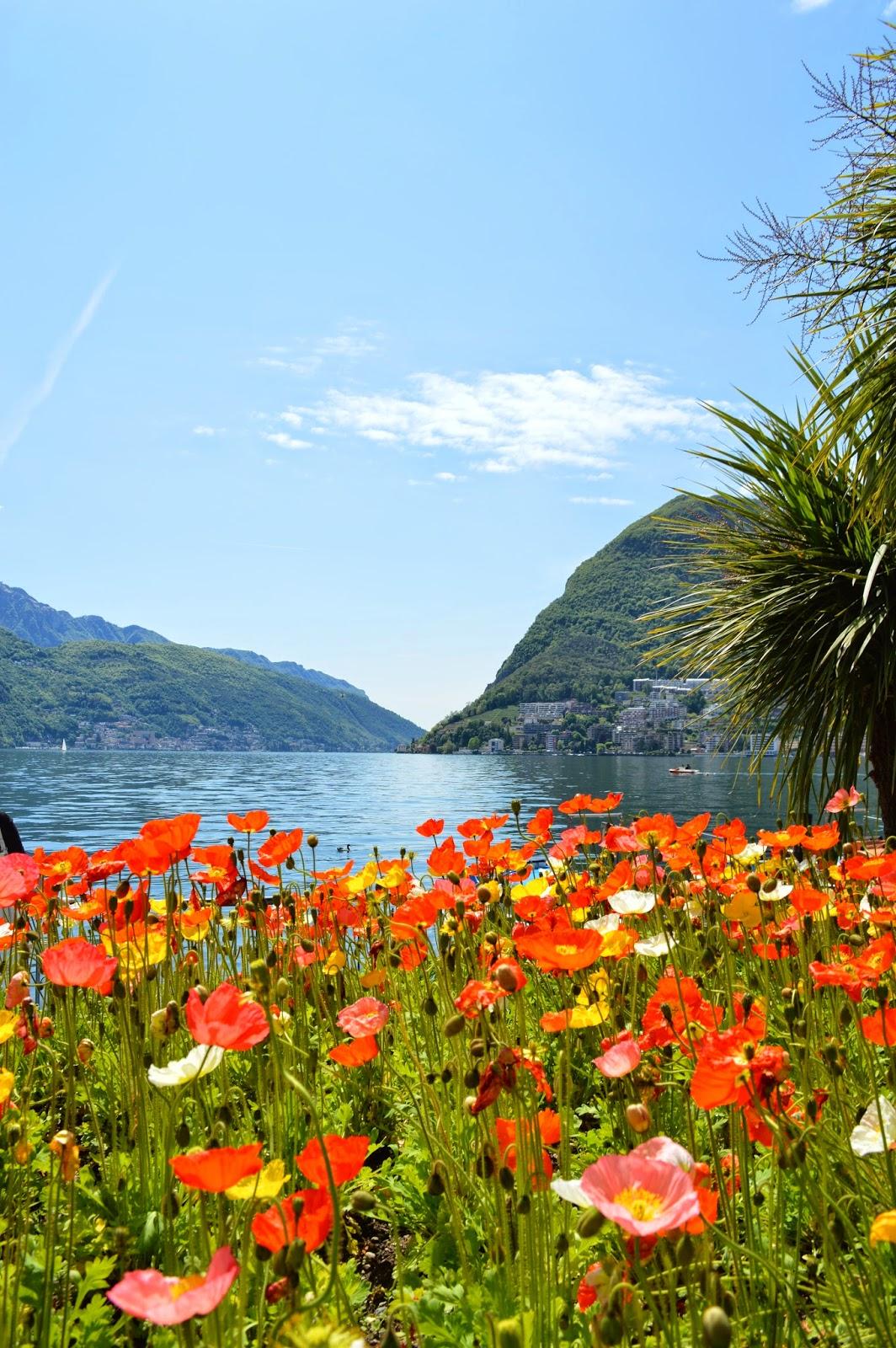 Lake Lugano and Monte San Salvatore, http://sleachmouradventures.blogspot.com