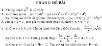 268 bài tập bồi dưỡng học sinh giỏi Toán 9, boi duong hoc sinh gioi Toan 9, hsg toan 9, bai tap