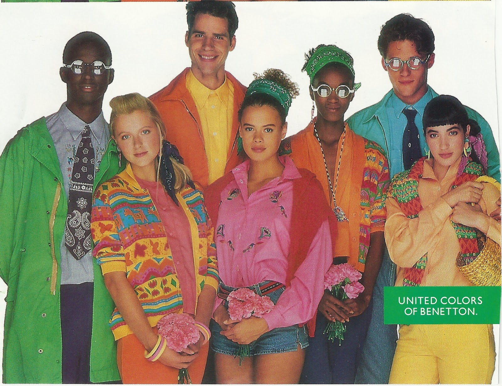 dear golden vintage benetton