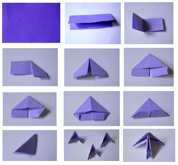 3d origami pieces 3d puzzle image