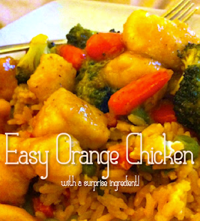 Orange Juice Recipe, Orange CHicken Recipe, Concentrate orange