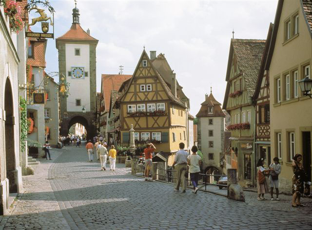 world beautifull places beautiful places rothenburg ob der tauber germany. Black Bedroom Furniture Sets. Home Design Ideas