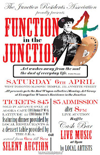 JRA's Fundraiser Function in the Junction 4: April 6, 2013, poster