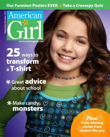 American Girl Magazine Lot of 3 (July/Aug and Nov/Dec 2014, Jan/Feb 2015) LIKE NEW