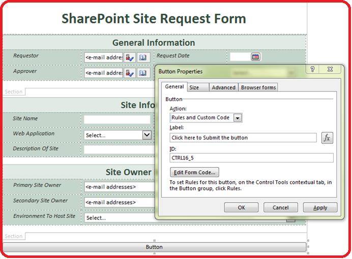 infopath 2013 form templates