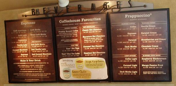 Starbucks Menu and Prices 2019 - RestaurantFoodMenu